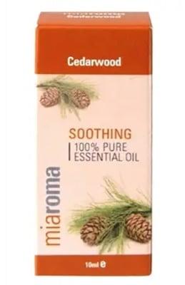 Cedarwood essential oil 10 ml. MIAROMA / Етерично масло от Кедрово дърво 10 мл. MIAROMA