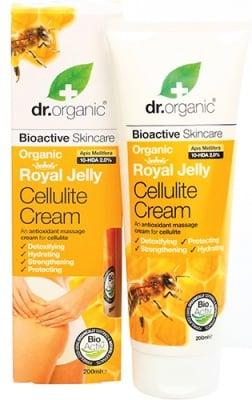 Dr. Organic Royal Jelly Cellulite cream 200 ml. / Др. Органик Пчелно Млечице Антицелулитен крем 200 мл.