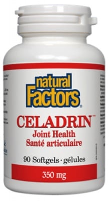 Celadrin 350 mg 90 capsules Natural Factors / Целадрин 350 мг. 90 капсули Натурал Факторс