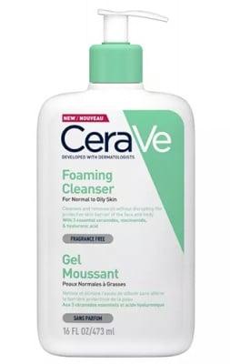 Cerave foaming cleanser 473 ml / Сераве Измиваща гел-пяна 473 мл.