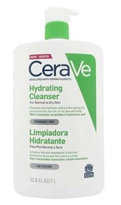 Cerave hydrating cleanser cream 1000 ml / Сераве Измиващ хидратиращ крем 1000 мл.