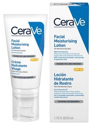 Cerave moisturising face cream SPF25 52 ml / Сераве Хидратиращ Крем за лице SPF25 52 мл.
