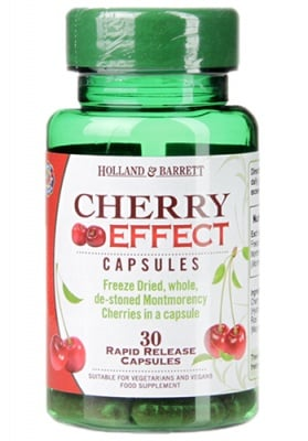 Cherry effect 30 capsules Holland & Barrett / Екстракт от Вишни от сорт Монтморенски 30 капсули Holland & Barrett