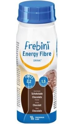 Frebini energy Fibre Chocolate 200 ml. / Фребини Енерджи с фибри Шоколад ентерална храна за пиене 200 мл.