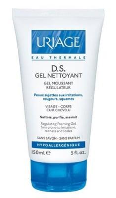 Uriage D.S. GEL NETTOYANT Regulating foaming gel 150 ml / Уриаж D.S. GEL NETTOYANT Почистващ гел 150 мл.