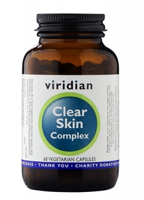 Clear skin complex 60 capsules Viridian / Чиста кожа комплекс 60 капсули Виридиан