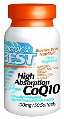 Doctor's Best Co Q10 100 mg 30 capsules / Доктор'с Бест Co Q10 100 мг. 30 капсули