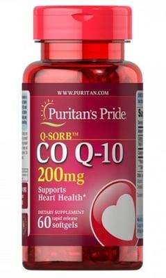Puritan's Pride Co Q10 200 mg 60 capsules / Пуританс Прайд Коензим Q10 200 мг. 60 капсули