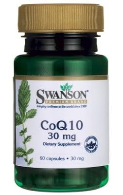 Swanson Co Q10 30 mg 60 capsules / Суонсън Коензим Q10 30 мг. 60 капсули