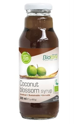 Biotоna coconut blossom syrup 300 ml / Биотона Био кокосов сироп 300 мл.