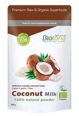 Biotоna coconut milk 200 g / Биотона Био кокосово мляко 200 гр