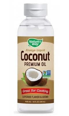 Coconut premium oil 300 ml. Nature's Way / Кокосово масло Премиум 300 мл. Nature's Way