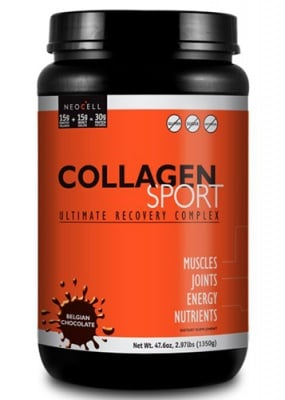 Collagen sport ultimate complex 1350 g NEOCELL USA / Колаген спорт с вкус на белгийски Шоколад 1350 гр. NEOCELL USA