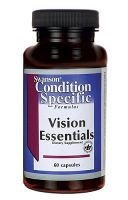 Swanson Vision essentials 60 capsules / Суонсън Добавка за добро зрение 60 капсули