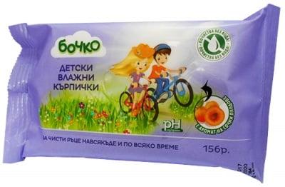 Bochko 15 wet wipes Fruit / Бочко 15 мокри кърпи Плодови