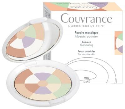 Avene Couvrance Mosaic powder for sensitive skin 10 g / Авен Кувранс Озаряваща пудра Мозайка срещу несъвършенства за чувствителна кожа 10 гр.