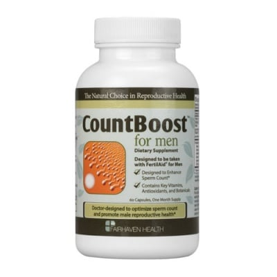Count Boost for men 60 capsules Fairhaven Health / Каунт Бууст за мъже 60 капсули Fairhaven Health