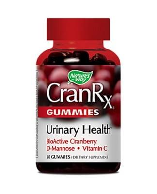 Cran Rx Urinary health 60 gummies Nature's Way / Кран Rx Грижа за уринарния тракт 60 желирани таблетки Nature's Way