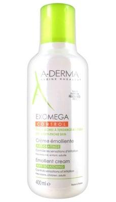 A-Derma Exomega Emollient cream anti-scratching 400 ml. / А-Дерма Екзомега контрол крем 400 мл.