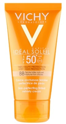 Vichy Ideal soleil BB face cream SPF 50 50 ml. / Виши Солейл ББ Кадифен тониран крем за лице SPF 50 50 мл.