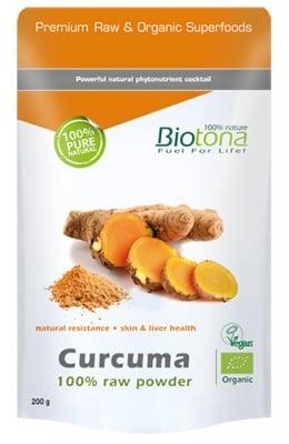 Biotоna Curcuma powder 200 g / Биотона Био Куркума на прах 200 гр.