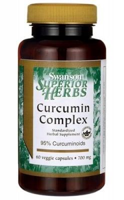 Swanson Curcumin complex 700 mg 60 capsules / Суонсън Куркумин комплекс 700 мг. 60 капсули