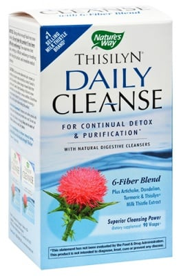 Thisilyn Daily Cleanse 635 mg 90 capsules Nature's Way / Тисилин Дейли Клийнс 635 мг. 90 капсули Nature's Way
