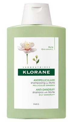 Klorane shampoo with myrtle 200 ml / Клоран Шампоан с Мирта срещу мазен пърхот 200 мл.