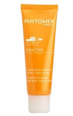 Phytomer sunactive protective sunscreen cream against dark spots SPF 30 50 ml. / Фитомер Слънцезащитен крем с депигментиращо и анти-ейдж действие SPF 30 50 мл.