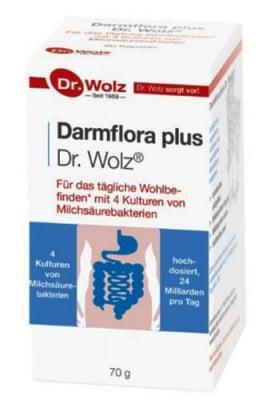 Darmflora plus powder 70 g Dr. Wolz / Дармфлора плюс прах 70 гр. Dr. Wolz