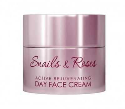 Revive Snails and Roses active rejuvenating day face cream 50 ml. / Ревив Роуз активен подмладяващ дневен крем за лице с екстракт от охлюви и розово масло 50 мл.