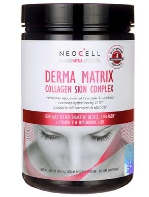 Derma matrix collagen skin complex 183 g NEOCELL USA / Дерма Матрикс колаген комплекс 183 гр. NEOCELL USA