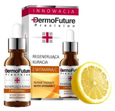 Dermofuture serum for face with Vitamin C 20 ml / Дермофючър серум за лице с Витамин Ц 20 мл
