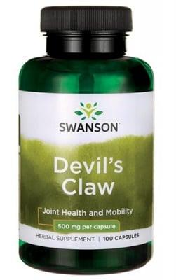 Swanson Devil's claw 500 mg 100 capsules / Суонсън Дяволски нокът 500 мг. 100 капсули