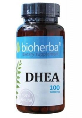 Bioherba DHEA 25 mg 100 capsules / Биохерба ДХЕА 25 мг 100 капсули