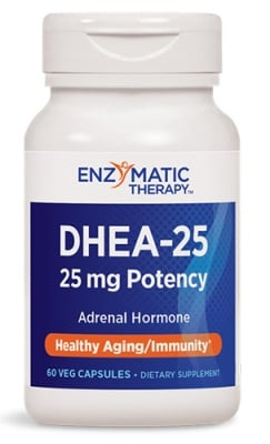 DHEA 25 mg 60 capsules Nature's Way / ДХЕА 25 мг. 60 капсули Nature's Way