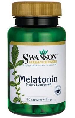 Swanson melatonin 1 mg 120 capsules / Суонсън Мелатонин 1 мг. 120 капсули