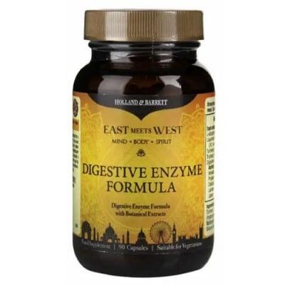 Digestive Enzyme Formula 90 capsules Holland & Barrett / Ензимна формула за добро храносмилане (Дайджестив формула) 90 капсули Holland & Barrett