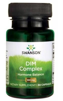 Swanson DIM complex 100 mg 30 capsules / Суонсън ДИМ комплекс (дииндолилметан) 100 мг. 30 капсули