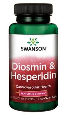 Swanson Diosmin & hesperidin 600 mg 60 capsules / Суонсън Диосвейн диосмин & хесперидин 600 мг. 60 капсули