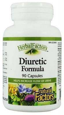 Diuretic formula 300 mg 90 capsules Natural Factors / Диуретик формула 300 мг. 90 капсули Натурал Факторс