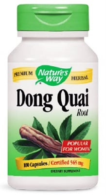 Dong quai 565 mg 100 capsules Nature's Way / Китайска ангелика 565 мг. 100 капсули Nature's Way