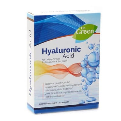 Hyaluronic Acid 50 mg 30 capsules Dr. Green / Хиалуронова киселина 50 мг. 30 капсули Др. Грийн