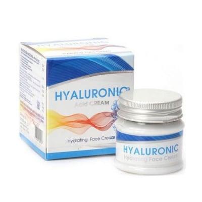 Hyaluronic Acid Hydrating Face cream 50 ml Dr. Green / Хидратиращ крем за лице с Хиалуронова киселина 50 мл. Др. Грийн