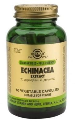 Echinacea leaf 60 capsules Solgar / Ехинацея корен листа 60 капсули Солгар