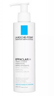 La Roche EFFACLAR H derma-soothing hydrating, cleansing cream 200 ml. / Ла Рош EFFACLAR H измиващ, хидратиращ и успокояващ крем 200 мл.
