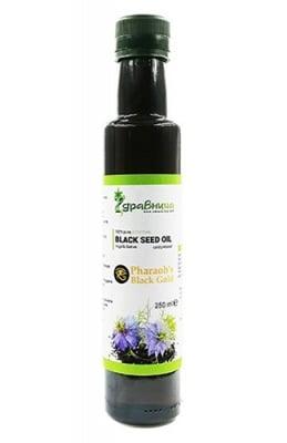 Egyptian black seed oil 250 ml Zdravnitza / Египетско масло от черен кимион 250 мл Здравница