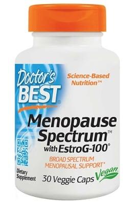 Doctor's Best Menopause spectrum with estro G 30 capsules / Доктор'с Бест Менопауз естро Г 30 капсули