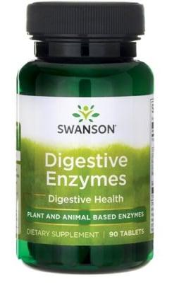 Swanson digestive enzymes 90 tablets / Суонсън Храносмилателни ензими 90 таблетки