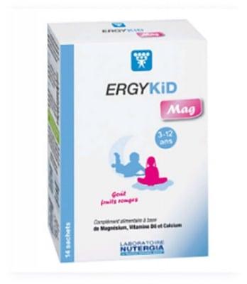 Ergykid mag 3-12 years sachet 14 Nutergia / Ерджикид маг за деца от 3- 12 години сашета 14